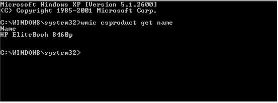 Using WMIC to Find Computer Model for SCCM or MDT   LaBareWeb