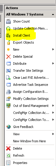 How to Stop an System Center Configuration Manager (SCCM